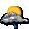 Nubi irregolari con acquazzoni