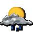 Nubi sparse con possibili piovaschi