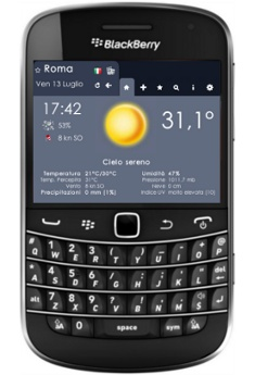 3BMeteo per BlackBerry
