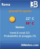 3BMeteo Gadget per Windows